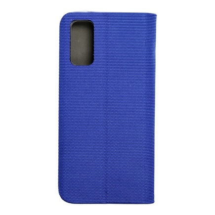 Pouzdro Sensitive Book Samsung S20 modré