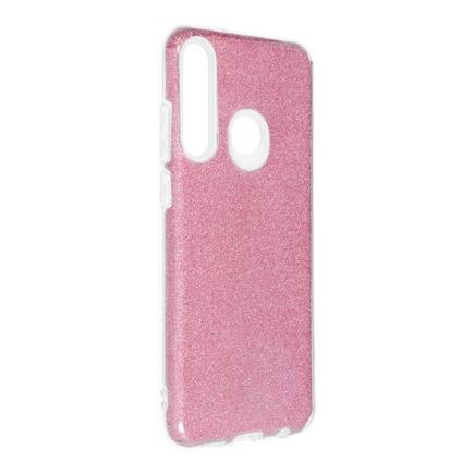 Pouzdro Shining Huawei Y6P růžové