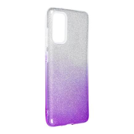 Pouzdro Shining Samsung Galaxy S20 / S11e průsvitné/fialové