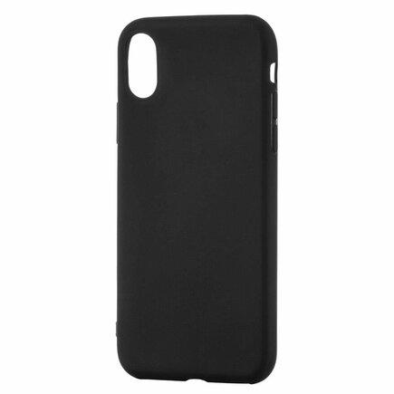 Soft Matt gelové pouzdro iPhone 11 Pro Max černé