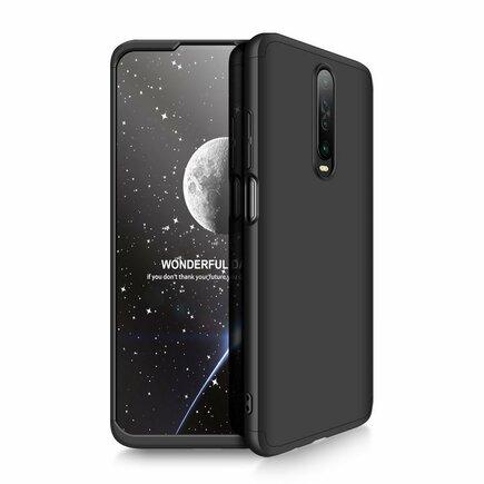 360 Protection Case pouzdro na přední i zadní část telefonu Xiaomi Redmi K30 černé
