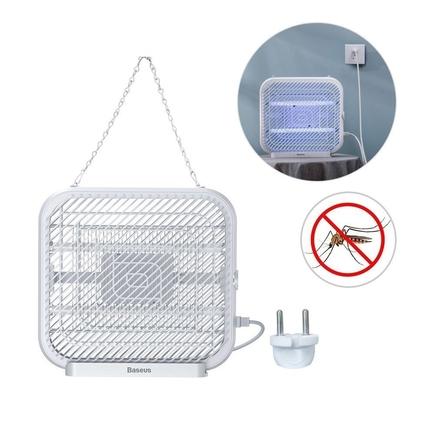 Baseus Mosquito Killing Lamp elektrická UV insekticidní lampa na komáry mouchy hmyz bílá (ACMWD-FB02)
