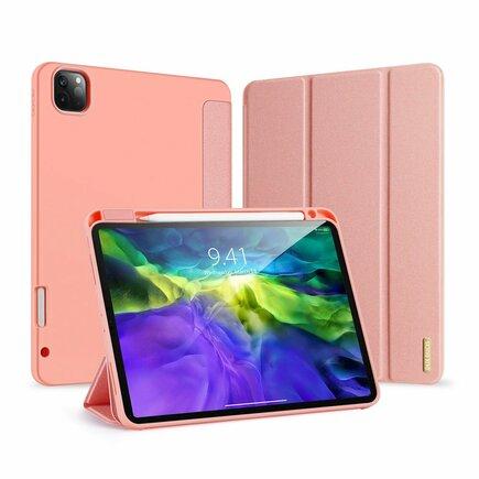 Dux Ducis Domo Lite skládané pouzdro na tablet s funkcí Smart Sleep podstavec iPad Pro 11'' 2020 / iPad Pro 11'' 2018 růžové