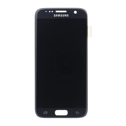 LCD display + Dotyk černý pro Samsung G930 Galaxy S7 (Service Pack)