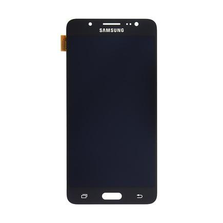 LCD display + Dotyk černý pro Samsung J510 Galaxy J5 2016 (Service Pack)