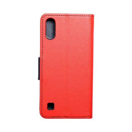 Pouzdro Fancy Book Samsung A10 červené/tmavě modré