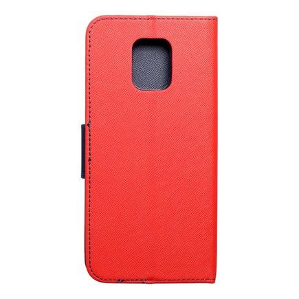 Pouzdro Fancy Book Xiaomi Note 9 Pro Max červené/tmavě modré