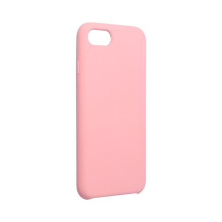 Pouzdro Forcell Silicone iPhone 13 Pro Max pudrově růžové