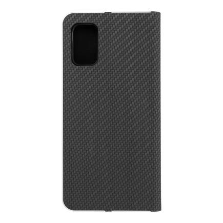 Pouzdro Luna Carbon pro Samsung A41 černé