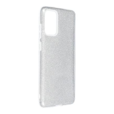 Pouzdro Shining Samsung Galaxy S20 Plus / S11 stříbrné