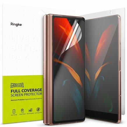 Ringke Invisible Defender sada ochranných fólií na dva displeje Samsung Galaxy Z Fold 2 5G (I8D015)