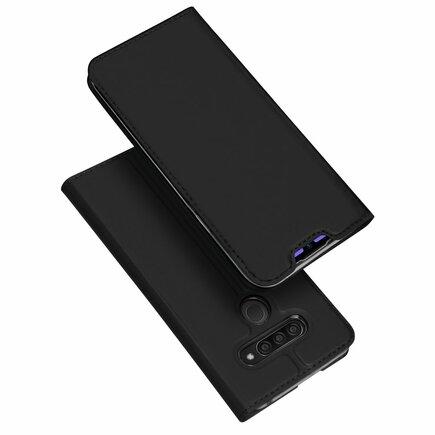 Skin Pro pouzdro s klapkou LG Q60 černé