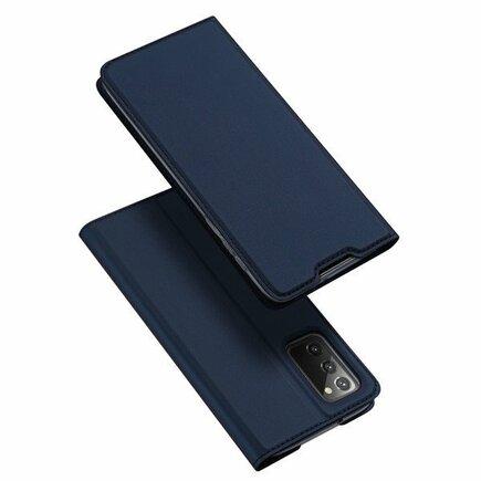Skin X pouzdro s klapkou Samsung Galaxy Note 20 modré
