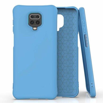 Soft Color Case elastické gelové pouzdro Xiaomi Redmi Note 9 Pro / Redmi Note 9S modré