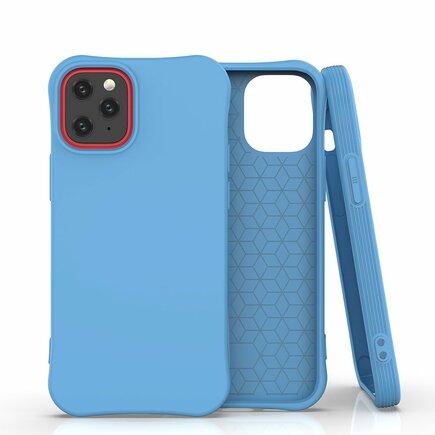 Soft Color Case elastické gelové pouzdro iPhone 12 mini modré