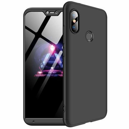 360 Protection Case pouzdro na přední i zadní část telefonu Xiaomi Mi A2 Lite / Redmi 6 Pro černé