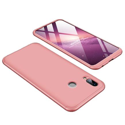 360 Protection pouzdro na přední i zadní část telefonu Huawei Honor Play růžové
