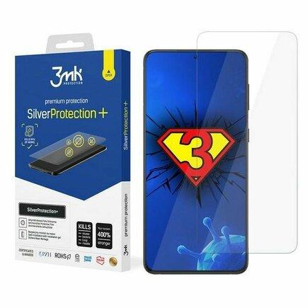 3MK Silver Protect+ Samsung G998 S21 Ultra anti mikrobní fólie s montáží na mokro