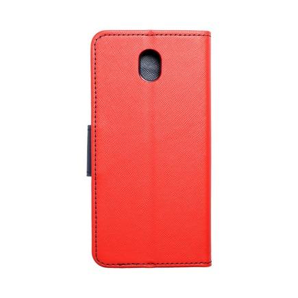 Pouzdro Fancy Book Samsung Galaxy J7 2017 červené/tmavě modré