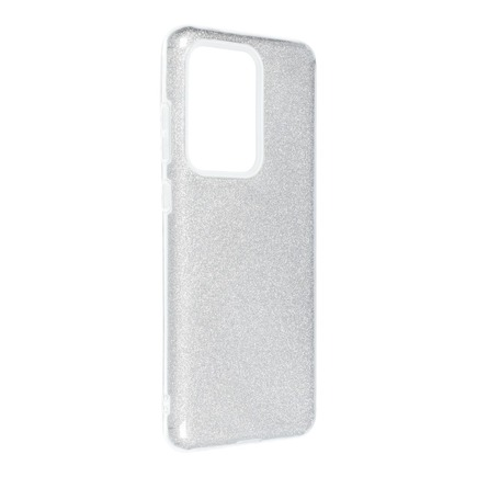 Pouzdro Shining Samsung Galaxy S20 Ultra / S11 Plus stříbrné