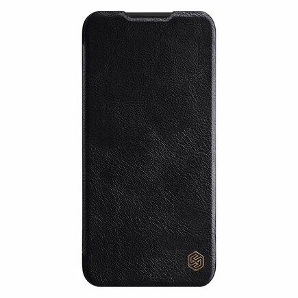 Qin Book Pouzdro pro Xiaomi Redmi Note 8 černé