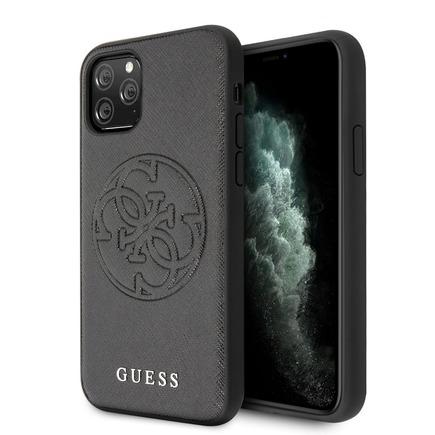 Saffiano Pouzdro pro iPhone 11 Pro Max černé (EU Blister)