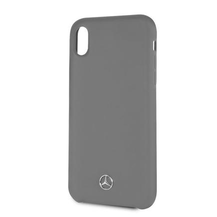 Silicon/Fiber Pouzdro Lining šedé pro iPhone XR