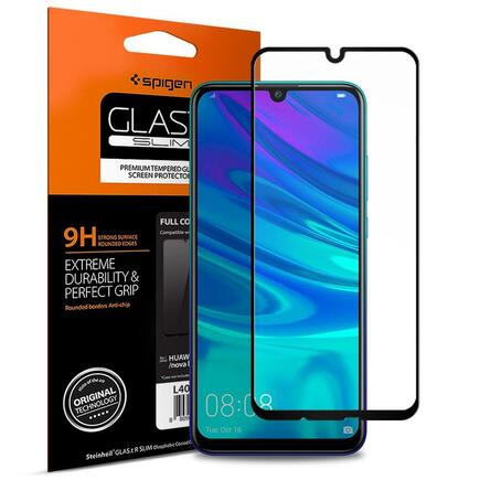 Tvrzené sklo Glass FC Huawei P Smart 2019 černé