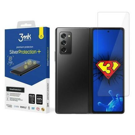3MK Silver Protect+ Sam Galaxy Z Fold 2 5G anti mikrobní fólie s montáží na mokro