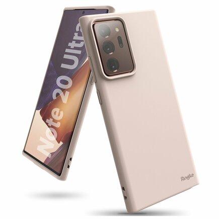 Air S ultratenké gelové pouzdro Samsung Galaxy Note 20 Ultra růžové (ADSG0026)
