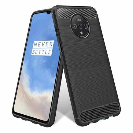 Carbon Case elastické pouzdro OnePlus 7T černé