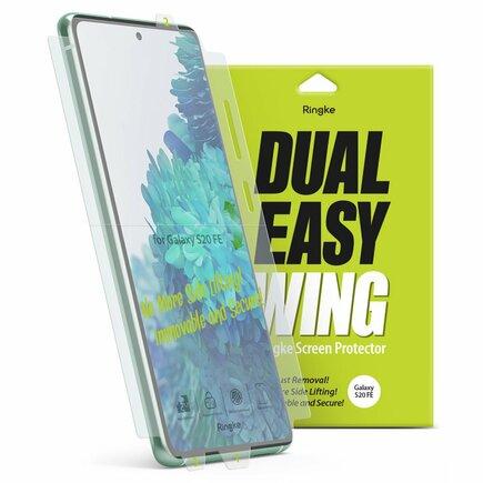 Dual Easy Wing 2x ochranná fólie na displej a boky Samsung Galaxy S20 FE 5G (DWSG0014)