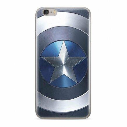 Originální pouzdro s potiskem Captain America 005 Huawei Y7 Prime 2019 / Huawei Y7 2019 modré (MPCCAPAM1611)