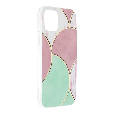 Pouzdro Forcell Marble Cosmo iPhone 12 / 12 Pro vzorek 05