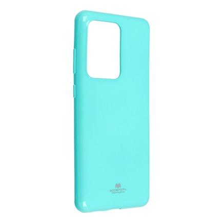 Pouzdro Jelly Mercury Samsung Galaxy S20 Ultra mátově zelené
