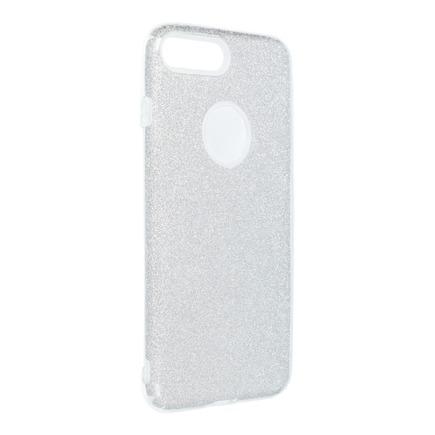 Pouzdro Shining iPhone 7 Plus / 8 Plus stříbrné