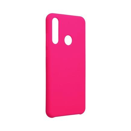Pouzdro Silicone Huawei Y6P růžové