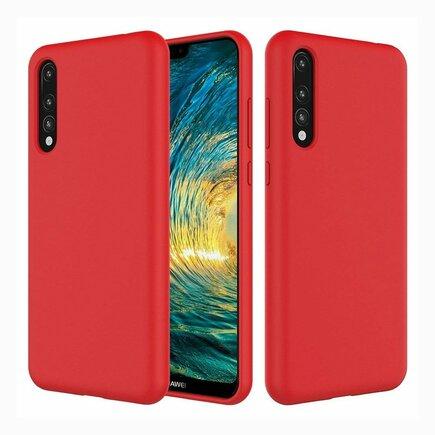Silicone Case elastické silikonové pouzdro Huawei P20 Pro červené