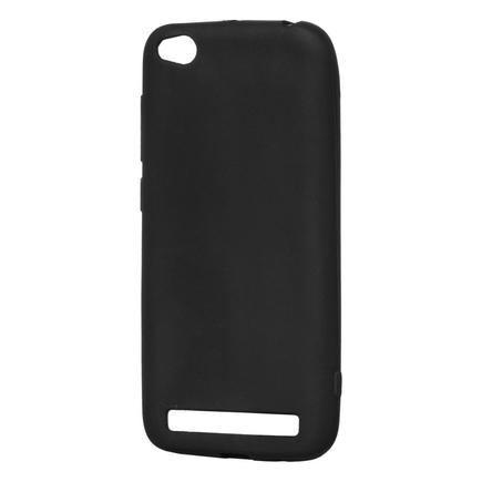 Soft Matt gelové pouzdro Xiaomi Redmi 5A černé