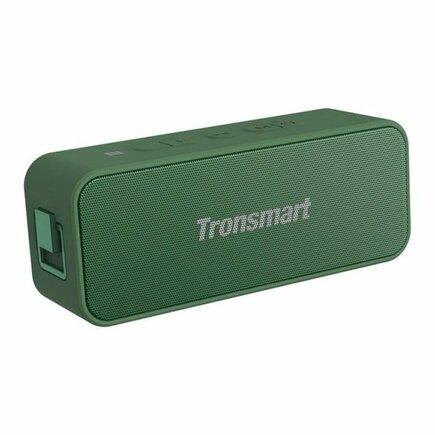 Tronsmart Element T2 Plus 20 W přenosný bezdrátový reproduktor Bluetooth 5.0 tmavě zelený (370728)