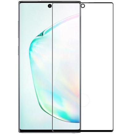 3D CP+MAX ultratenké tvrzené sklo na celý displej s rámem 0,33 MM 9H Samsung Galaxy Note 10 černé