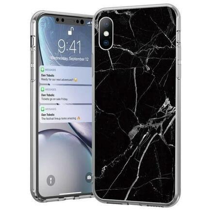 Marble gelové pouzdro mramorované Samsung Galaxy M31 černé