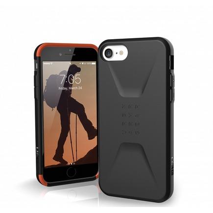 Pouzdro Civilian iPhone 7 / 8 / SE 2020 černé