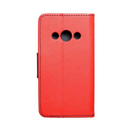 Pouzdro Fancy Book Samsung Xcover 3 (G388F) červené/tmavě modré
