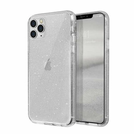 Pouzdro LifePro Tinsel iPhone 11 Pro Max průsvitné