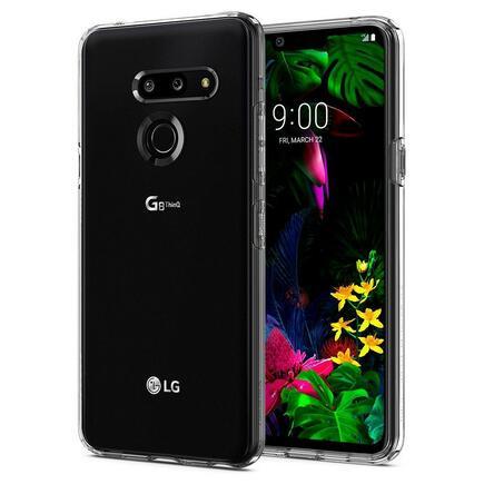 Pouzdro Liquid Crystal LG G8 ThinQ průsvitné