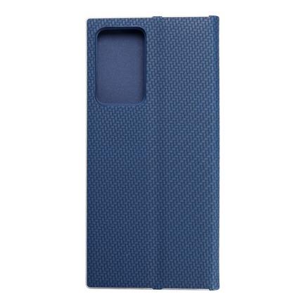 Pouzdro Luna Carbon Samsung Galaxy Note 20 Plus modré