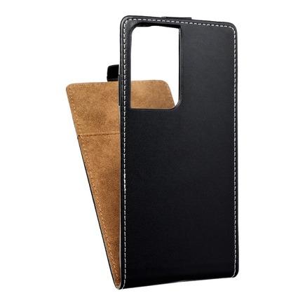 Pouzdro Slim Flexi Fresh svislé Samsung Galaxy S21 Ultra černé
