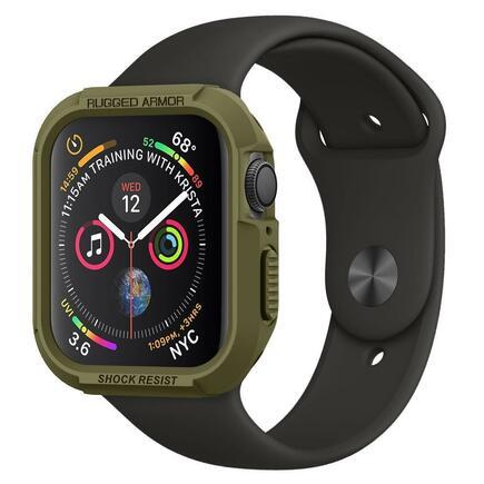 Spigen Pouzdro Rugged Armor Apple Watch 4 (40MM) olivově zelené