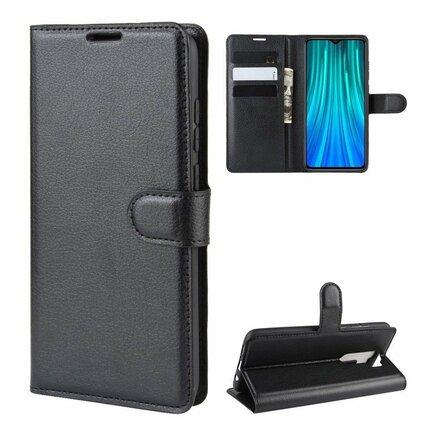 Wallet Case pouzdro s klapkou Xiaomi Redmi Note 8 Pro černé